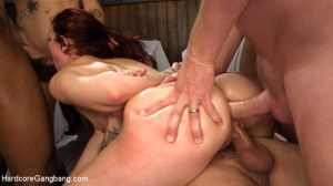 The Urge: No women are safe from the cock after dark! [HardcoreGangbang.com,Maci May, Straight,Virgin,Big tits][Eng]