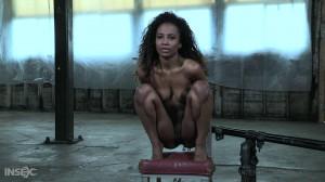 Bondage, spanking, strappado and torture for hot ebony part 2 [2020][Eng]