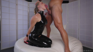 Yes Master, Ill Be Your Latex Slave [2021,EvilAngel,Scarlet Chase,Gonzo,All Sex,Blowjob][Eng]