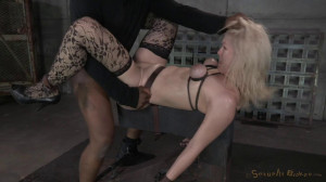 Beautiful blonde Ella Nova bound [2021,Ella Nova,Bondage,Hardcore,Domination][Eng]