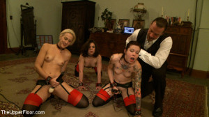 Nympho pixie punished for sucking cock before service [2012,Kink: The Upper Floor,Iona Grace][Eng]