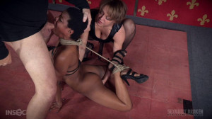 Fucking in Intense Rope Bondage With Serious Orgasms! [2016,Kahlista Stonem - Dee Williams - Matt Williams,BDSM,Bondage,Hardcore][Eng]