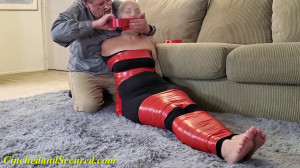 Rachel Red and Black and Taped All Over [2021,Bondage,Rope,BDSM][Eng]