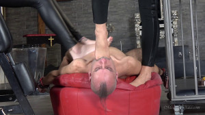 Foot Gagging [2016,Pussy And Ass Worship,Facesitting,Lick][Eng]