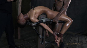 Classically trained dancer severely bent, skull fucked [2018,SB,Cool Girl,BDSM][Eng]