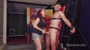 Controlling The House Slave [2018,Orgasm Denial,Femdom,Handjob][Eng]