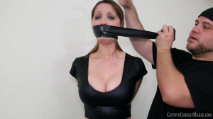 Tight bondage, domination and mummification for young bitch [2017][Eng]