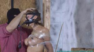 Courtney's Severe Tape Bondage - Scene 1 [Eng]