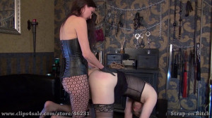 A Small Strap-on for Slut Candy [2020,Femdom,Pegging,Strapon][Eng]