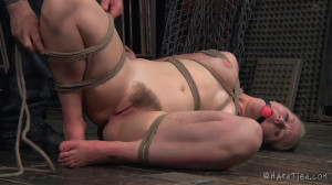 Super bondage, spanking and torture for beautiful hot blonde [2020][Eng]