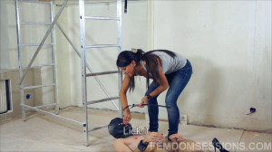 Megan Vale - Strong Domme uses her tool [2020,Foot Domination,Foot Fetish,Femdom ][Eng]