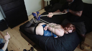 The Lonely Wife [Rope Bondage,Hogtie,High Heel Bondage][Eng]