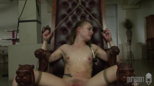 Dungeon Corp - Sadie Blair - Learning Her Lessons part 3 [2017,Dungeon Corp,Sadie Blair,pain,device bondage torture,punishment][Eng]