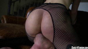 Pussy Licking Slave for Charlotte [2021,Charlotte Sartre,Goth Girls,Big Booty,Fishnets][Eng]