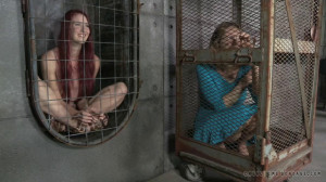 Broken Blonde - Rain DeGrey   Ashley Lane [Interrogation,Foot Torture,Marks][Eng]