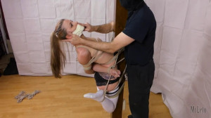 Bondage, domination and strappado for beautiful model [2018][Eng]