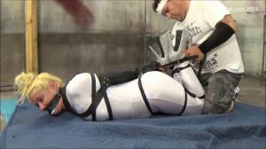 Lola Latex bondage [2016,Bondage,Humiliation,Roped][Eng]