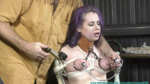 Fiona Sinclair's First Shoot [2017,Humiliation,Bondage][Eng]