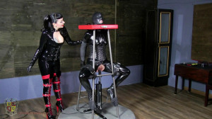 Let The Games Begin! [2019,electrical,catsuits,orgasm][Eng]