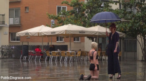 Eager Bitch Spanked And Flogged In The Rain! - Part 1 [Kink: Public Disgrace,Steve Holmes][Eng]
