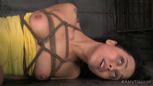 HT - A New Girl Part One - Mia Austin and Jack Hammer [2015,Mia Austin,Fetish,Extreme Bondage,BDSM][Eng]