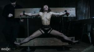 Dakota Marr - Stress and Fear [Dakota Marr,Bondage,Stockings,Clothespins][Eng]