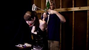 Belle Davis and Elizabeth Andrews - Latex fun in the warehouse [2021,BDSM,Bondage,Rope][Eng]