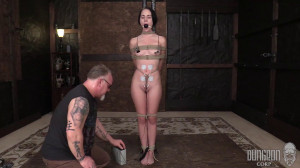 The Helplessness of the Ropes sc.1 [2018,DungeonCorp/ SocietySM,Bambi Black,Bondage,Humiliation,Skinny][Eng]