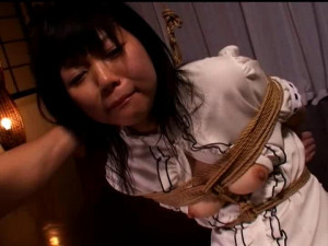 Innocent 19 year old Nana Yuki [2013,Bondage,Bdsm][Eng]