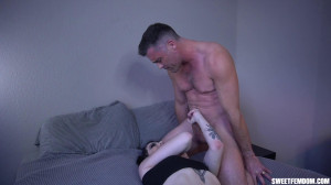 Ballbusting Fuck with Lydia Black [2021,Lance Hart,Face Sitting,Sex,Cum Eating][Eng]