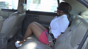 Leanna Belle - My stepsister tied me up in the backseat and left me there! [2021,Rope,BDSM,Bondage][Eng]