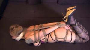 Crotchrope Hogtie [2021,BDSM,Bondage,Rope][Eng]