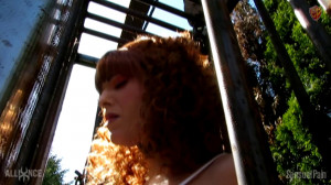 Sensualpain Acquired Redhead DS Mind Managing [2019,Sensualpain,Abigail Dupree,Chains,Outdoors,Female Training][Eng]