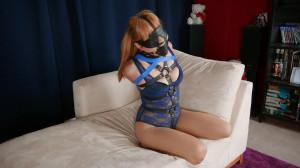 Harnessed Blindfolded and Secured [RestrictedSenses,Mina,Bondage][Eng]