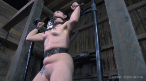 After Languishing In Long Term Bondage, Siouxsie Q Gets Some Attention [2014,Bondage,BDSM,Submission][Eng]