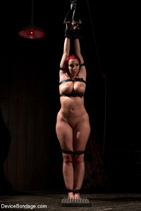 Kelly Divine: Stretched, Fucked, Flogged, and Squirting Everywhere; Rosebud Exposed!! [2012,Kink: Device Bondage,Kelly Divine][Eng]