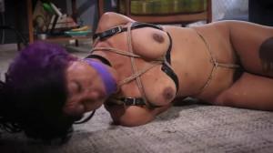 Bondage, spanking, hogtie and torture for very sexy slavegirl [2019][Eng]