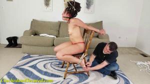 Jayda's Rubber Band Torment [2021,Rope,BDSM,Bondage][Eng]