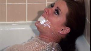 Bosslady Gets Bubble Wrapped [BDSM,Bondage,Rope][Eng]