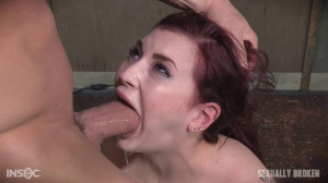 Amber Ivy is bound in shackles on a Sybian [Eng]