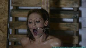 Courtney's Severe Tape Bondage - Scene 2 [Eng]