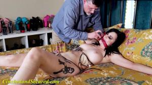 Nyxon Bikini Bed Bondage [2021,BDSM,Rope,Bondage][Eng]
