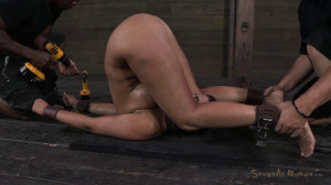 Bratty big breasted Penny Barber taken down a peg and face [2013,Penny Barber,BDSM,Bondage,Hardcore][Eng]