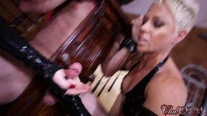 Milking their Pathetic Slave [2019,Dahlia Rain,Milking][Eng]