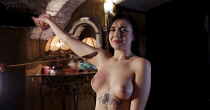 Kyra Axe  Part 2 [2020,Pain,Whipping,Torture][Eng]