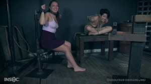 Slippery When Mia Part 2 - Mia Torro, Maddy O'Reilly [2017,Torture,Spanking,BDSM][Eng]