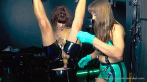 Mistress Miranda in Spin On My Big Strapon Pt 1-2 [2019,Femdom ,Foot Domination,Foot Fetish][Eng]