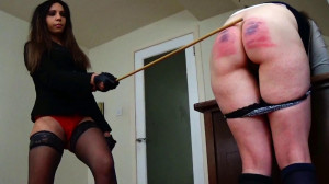 Severe two girl caning and salting [Eng]
