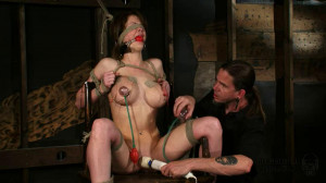 Bondage, hogtie, spanking and torture for young sexy girl [2019][Eng]