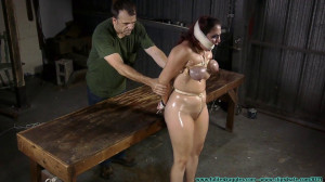 Surprise Party For Gia Love - Table Tied - Part 3 [2020, Busty, neckroped, gags][Eng]
